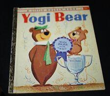 Vtg Little Golden Book Yogi Bear BooBoo 1960 1960s   --EEX