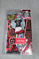 Monster High Ghoulia Yelps Fasion Pack Deadfast Comic Book Club 2011. New in box