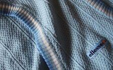 VEST gilet cardigan vintage 70's ELLESSE tg.M/L circa  made Italy