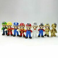 New Super Mario Bros. Action Figure PVC Plastic Doll Toy Collectible Toy Gift