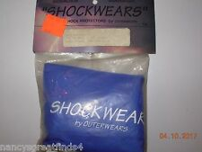 * Shockwears Vented Shock Protection Ohlin/WP/Fox STD Covers Front/Blue