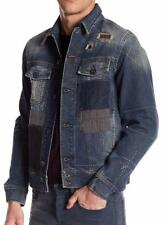 New with Tag-$898.00 Diesel Jim Patchwork Denim Jacket LIMITED EDITION Size L