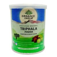 ORGANIC INDIA TRIPHALA POWDER 100GM Free Shipping USDA Organic