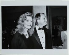 Nancy Stafford (American Actress), Larry Myers ORIGINAL PHOTO HOLLYWOOD Candid