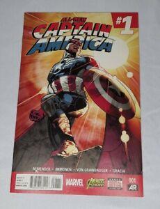 All New Captain America 1 1st Print Sam Wilson NM