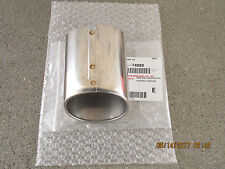 02 - 05 TOYOTA MR2 SPYDER 2D COUPE STAINLESS STEEL EXHAUST TIP BRAND NEW