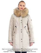 Parka Puffer Coat Jacket w/ Raccoon Fur sz XL / US 12 / EU 44  $645 Пуховик Енот