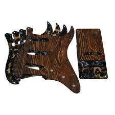 11 Hole ST Guitar SSS Plastic Pickguard & Back Plate Fits Fender Stratocaster