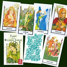 ESPANOL SPANISH TAROT DE LAS MUJERES SABIAS VIEJO CAMINO Fortune Telling 78 Card