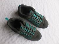 Merrell  Women's Air Cushion Granite/Teal Blue Trail Size 8 US Performance Shoes