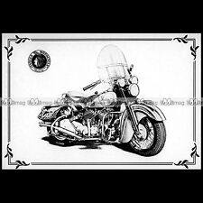 #CP99 INDIAN CHIEF (1950) - Custom Bike Carte Postale Moto Motorcycle Postcard