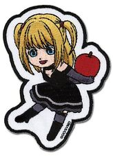 Death Note Misa Embroidered Iron On/Sew On Patch Shonen Jump Licensed Product