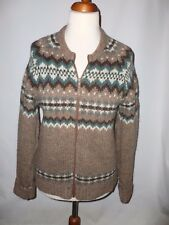 """VINTAGE  sleightex fair isle/nordic sweater jumper SIZE M         PIT TO PIT 21"""""""