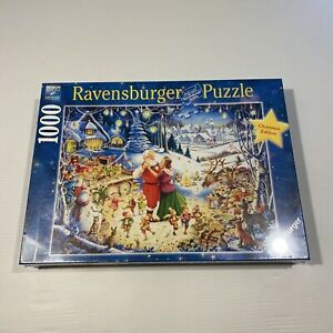 Ravensburger 1000 Piece Puzzle Ultimate Christmas Party 197651 Brand New Sealed