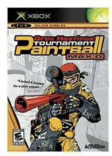 New listing Greg Hastings' Paintball Max'D Tournament Xbox Kids Game