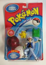 Pokemon Deluxe Trainers #25 Pikachu and Ash Hasbro Fully Poseable Figure