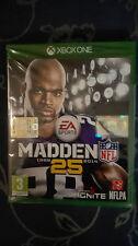 NFL MADDEN 25 XBOX ONE SIGILLATO - FULL UK