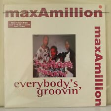 "Max-A-Million ‎– Everybody's Groovin' (Vinyl, 12"", MAXI 33 Tours)"