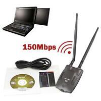 3000mW Wireless USB 2.0 Wifi Adapter Long Range Dual Antenna 3070L Network Card