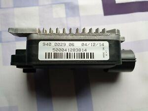 12-19FORD FOCUS FIESTA C-MAX  KUGA S-MAX RADIATOR COOLING FAN CONTROL MODULE