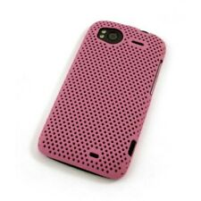 Grid case cover HTC Sensation/Sensation XE estuche duro Cool skin funda de móvil rosa