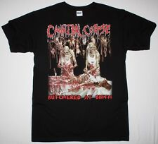 CANNIBAL CORPSE BUTCHERED AT BIRTH 1991 DEATH METAL GRINDCORE NEW BLACK T-SHIRT