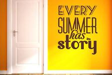 Every Summer Has Its Story Vinilo Pegatinas De Pared Adhesivo Decoración