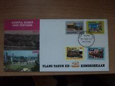 Malaysia 1982 31 Aug FDC 25th Anniversary of Independence Postmark Kuala Lumpur