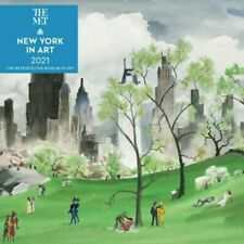 2021 Calendar New York in Art Square Wall by Andrews McMeel AM45140