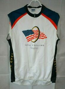 Voler Team USA Cycling Sleeveless Jersey Multicolor RWB & Black For USA Charity!