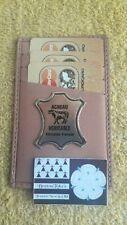 Porte carte bancaire credit Véritable cuir Agneau Fabrication Française 11 x 7cm
