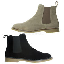 AGOS Mens Casual Dress Ankle Chelsea Boots
