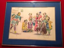 """Clown Art by Wayne Howell - """"Your Next"""" Signed Lithograph - Limited Edition"""
