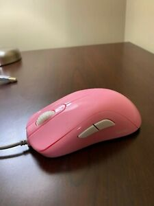 BenQ Zowie S2 Limited Edition Pink DIVINA Ergonomic FPS Gaming Mouse