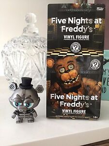 Five Nights at Freddy's Vinyl Figure - Mystery Minis - Silver Freddy