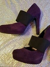 Jessica Simpson Ladies size 6 purple strappy pumps !