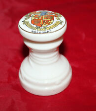 A & S Arcadian China - Crested Ware - Miniature seal - Boscombe - vgc