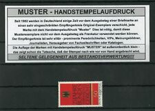 BUND Nr.879 ** BUNDESVERFASSUNGSGERICHT - MUSTERAUFDRUCK !!! (127787)