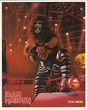 8 x 10 Glossy Photo Steve Harris Iron Maiden {218}
