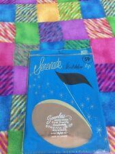 One pair vintage Serenade Garter stockings Nylon 10 Brownish Green Mesh