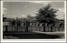 Prag Praha  Tschechien Postkarte ~1950/60 Blick auf Burg Hradschin Hradčany