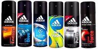 6 x ADIDAS Deodorant 24h FRESH Power MEN Body Spray 5oz /150ml Each WHOLE SALE