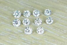 0.8-1mm I1 Clarity J Color 0.04cts 10pc Natural Loose Diamond Non-treated Round
