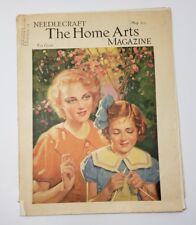 Needlecraft Magazine The Home Arts May 1935