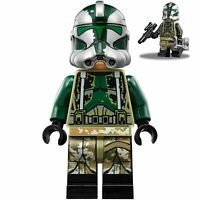 LEGO Clone Commander Gree Star Wars Minifigure + Blaster Gear 75234 NEW Kashyyyk