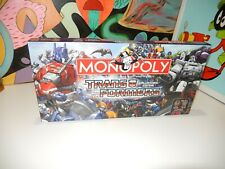 Monopoly - Transformers Collectors Edition -  complete, missing ?  fair price .