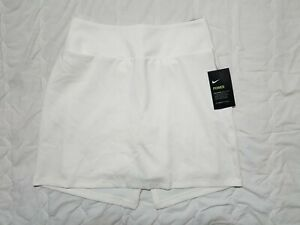 1 NWT NIKE DRI-FIT WOMEN'S SKORT, SIZE: SMALL, COLOR: WHITE (J120)