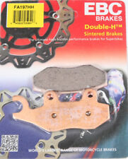 Rear Brake Pads 2 Sets EBC HH Front 2008-14 Kawasaki KLR650 // FA197 FA228