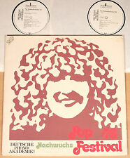 NACHWUCHS-FESTIVAL POP '78  (DEUTSCHE PHONO-AKADEMIE 1978 / 2LP / m-)
