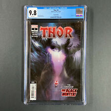 Thor #4 CGC 9.8 Klein 2nd Print 1st Appearance Black Winter cameo unpressed